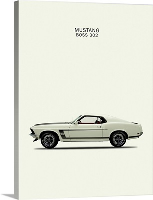 Ford Mustang Boss302 1969