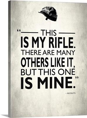 Full Metal Jacket My Rifle