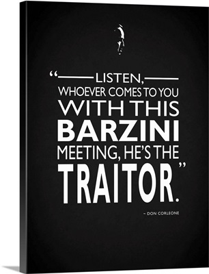 Godfather Barzini Traitor