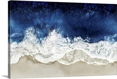Indigo Waves From Above II