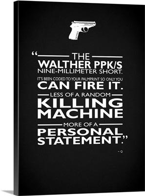 James Bond Personal Statement
