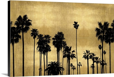 Palm Row on Gold