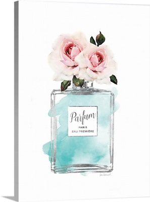 Parfume Teal with Rose