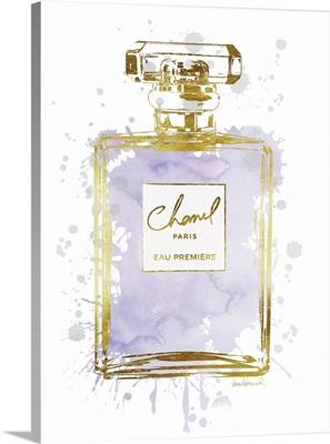 Perfume Bottle Dusty Purple