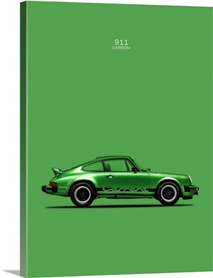 Porsche 911 Carrera Green