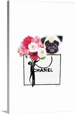 Pug & Shopping