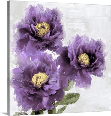 Purple Bloom I