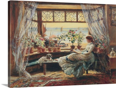 Reading by the window, Hasti