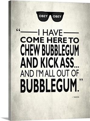 They Live Chew Bubble Gum