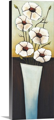 Vase Blue Blanc