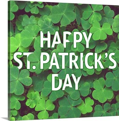 Happy St. Patrick's Day III - Square