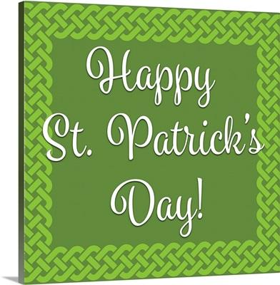 Happy St. Patrick's II - Square