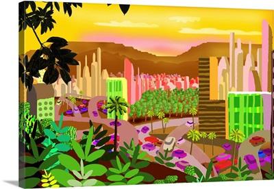 City Tropical Fantasy
