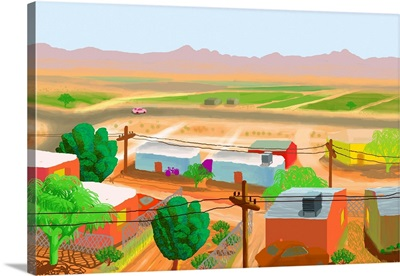 Farms Outside Phoenix