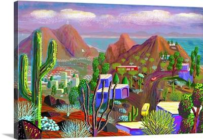 Phoenix after California falls in the Ocean