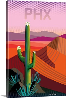 Phoenix Travel Poster II