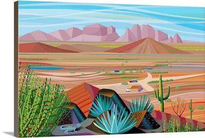West of Phoenix