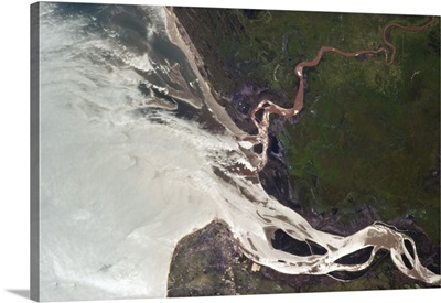 An African river perpetually flowing into the Indian Ocean