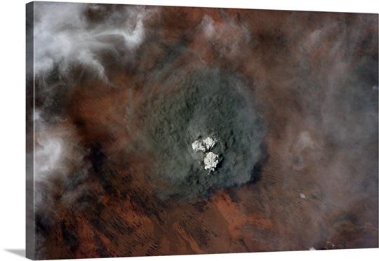 Angry-looking smoke cloud in western Australia