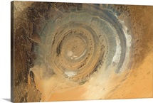Earth's Pinwheel - the Richat Structure in Africa