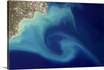 Enormous eddy off the Italian coast