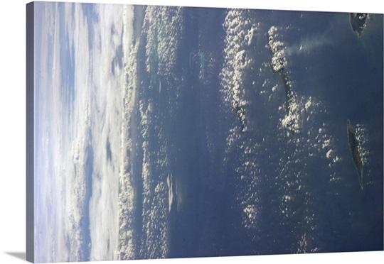 From Curacao to the horizon, islands off the Venezuelan coast