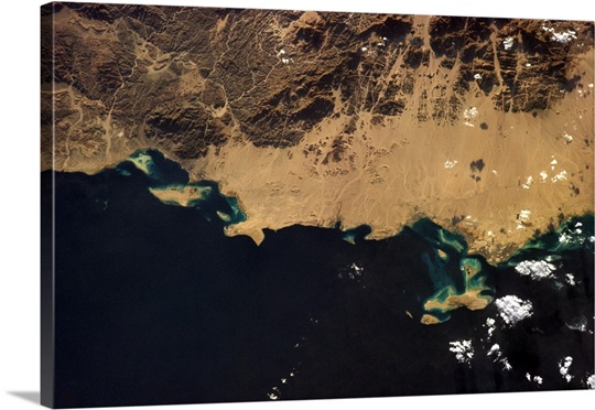 Hurghada, Egypt, a popular tourism and diving site on the Red Sea