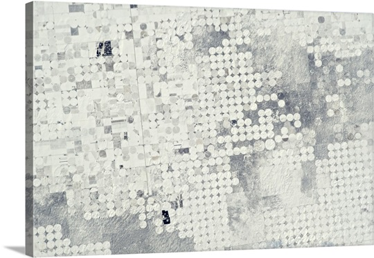 Like a Hole Punch - confetti of farms using central irrigation in the American Southwest