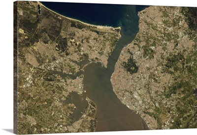Lisbon, Portugal, clear and bright on a Spring day
