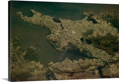 Mumbai, India, formerly Bombay, huge port city on the Arabian Sea.