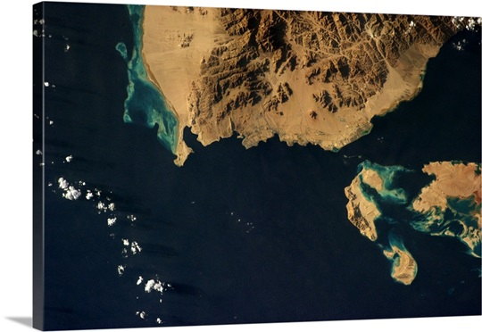 Sharm el Sheikh, at the tip of the Sinai on the Red Sea