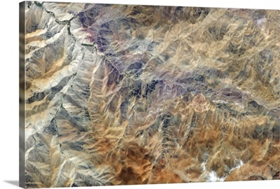 The Andes mountains have an unbelievable richness of colour and texture