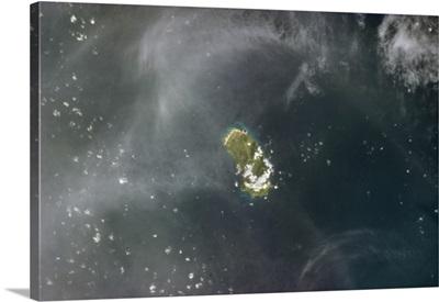 The Annobon Nature Preserve, volcanic island off the coast of Equatorial Guinea, Africa