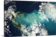 The beauty of the Bahamas is surreal -  every blue that exists