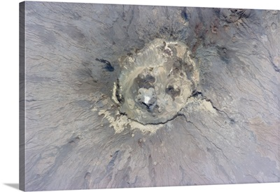The violent ugliness inside a naked volcano. Chad, Africa