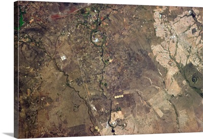 Tswaing Meteorite Crater, just north of Pretoria, South Africa