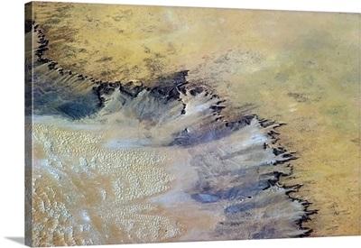 Wind Sweeping Sand in Mauritania
