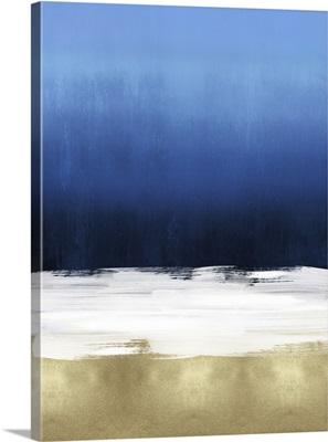 Abstract 3 Tones Dark Blue