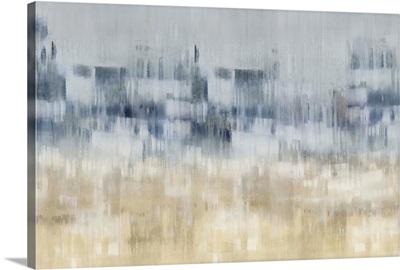 Abstract Aqua Tan