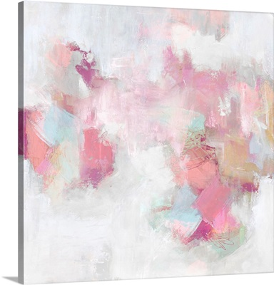 Abstract Blush And White II