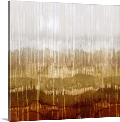 Abstract Drip Amber