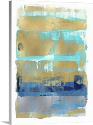 Abstract Expressions Aqua