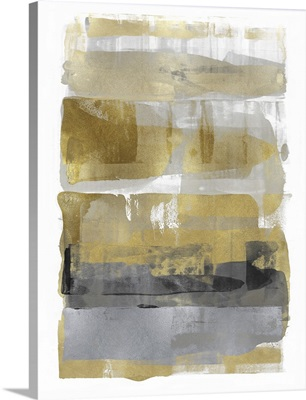 Abstract Expressions Gold Grey