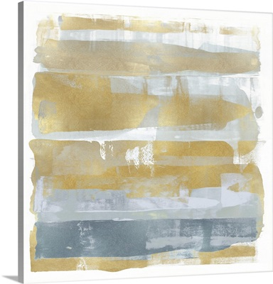 Abstract Expressions Light Gold