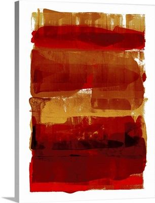 Abstract Expressions Red