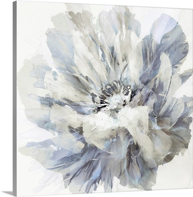 Abstract Flower Grey