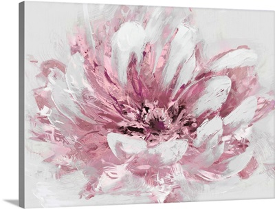 Abstract Flower II Pink