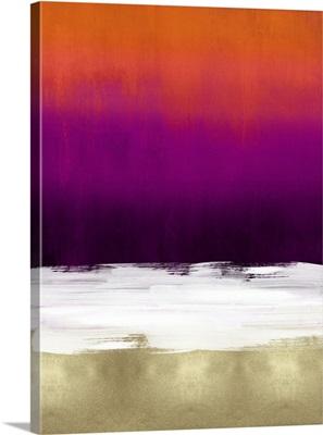Abstract III Tones Magenta