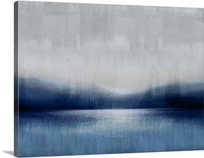 Abstract Landscape Indigo Lake 2