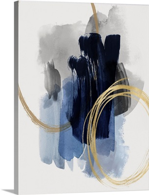 Abstract Motion Blue II X